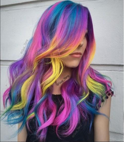 Những màu tóc nhìn là muốn đi nhuộm ngay