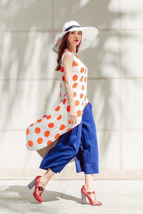 Street style đa phong cách của Yến Trang