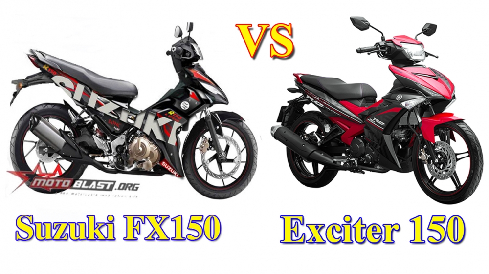 Suzuki FX150 vs Exciter 150