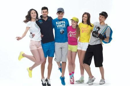 Trẻ trung và nổi bật với thời trang hè của Kappa