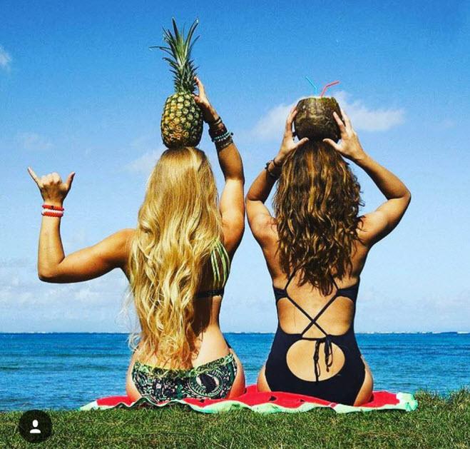"""'Tuyệt chiêu' chụp bikini đẹp khiến chị em bạn dì """"phát hờn"""""""