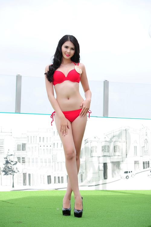 Ảnh bikini nóng bỏng của dàn thí sinh HH Bản sắc Việt