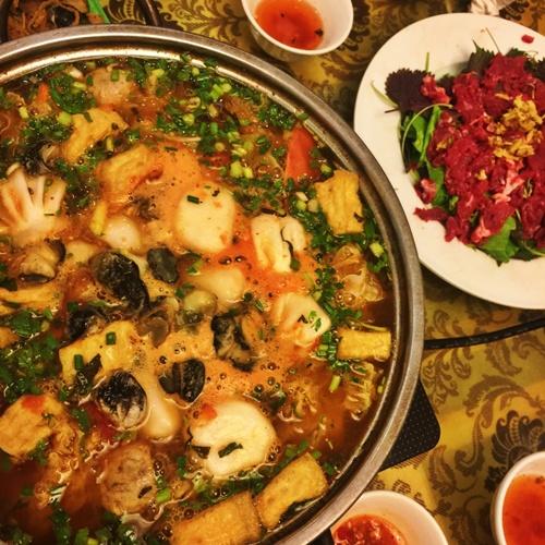 Ba loại lẩu chua đắt khách vào mùa hè Hà Nội