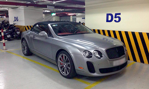 Bentley SuperSport mui trần - siêu xe một thời của đại gia Việt