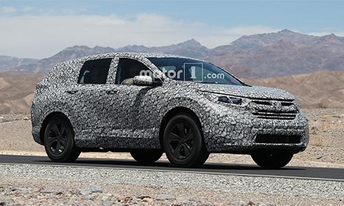 Honda CR-V 2018 lộ diện trên đường thử