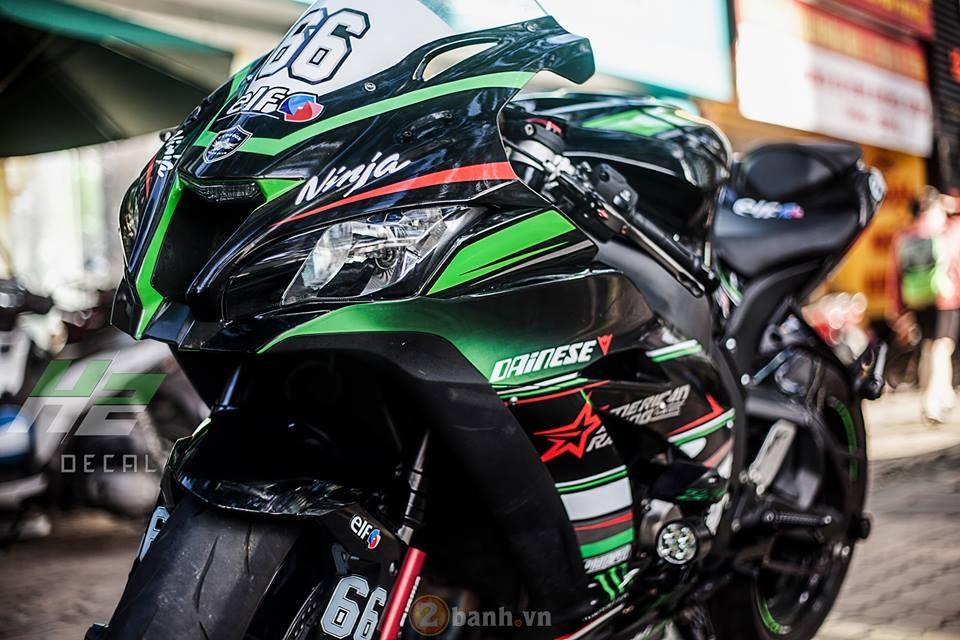 Kawasaki ZX10R thế hệ mới trong bộ áo WSBK