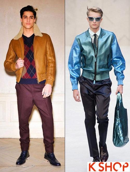 Kiểu áo khoác nam đẹp thiết kế cổ điển đông 2017 ấm áp cho chàng