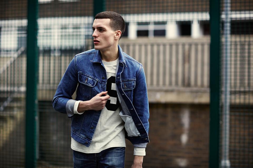 Những mẫu áo khoác nam đẹp phong cách denim on denim
