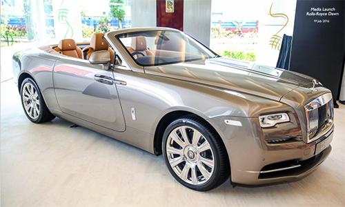 Rolls-Royce Dawn giá từ một triệu USD tại Malaysia
