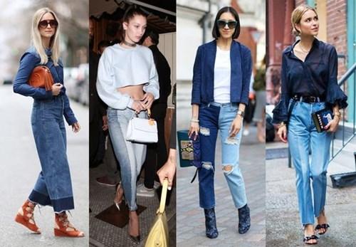 Xu hướng mới 'cực chất' mang tên 'jeans 2 màu'