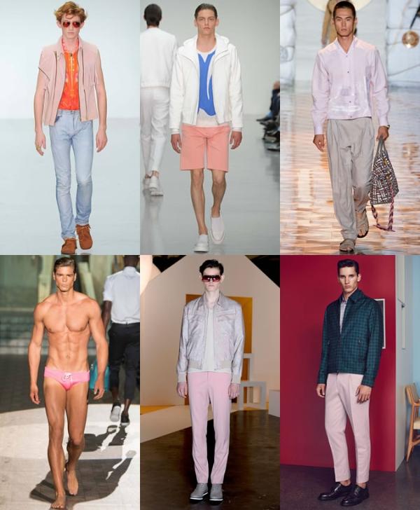 Xu hướng thời trang nam đầy màu sắc đẹp nhất 2017
