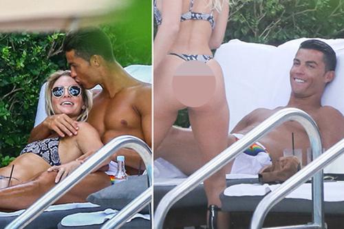 Bồ mới sexy của Cristiano Ronaldo tài sắc vẹn toàn