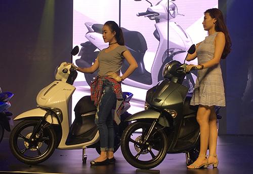 Hãng Yamaha ra mắt của xe Janus