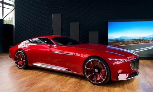 Siêu xe Mercedes-Maybach Vision 6 concept – siêu phẩm tương lai