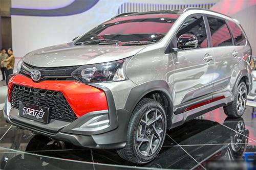 Toyota Avanza - phong cách chiến hạm cho Indonesia
