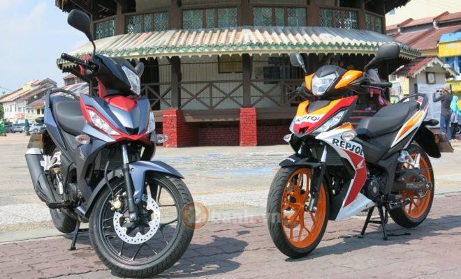 Vài hình ảnh Winner 150 chạy thử nghiệm tại Malaysia