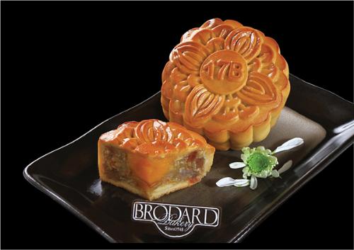 Vị ngọt bùi trong chiếc bánh Trung thu Brodard
