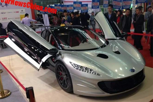 Windbooster Titan - siêu xe điện Trung Quốc