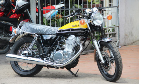 Yamaha SR400 bản đặc biệt tại Việt Nam