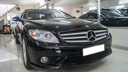 Mercedes-Benz dòng CL550 AMG giá 1,9 tỷ đồng ở Sài Gòn
