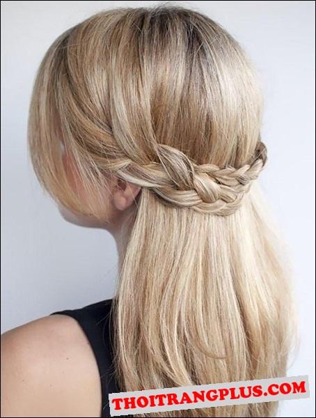 2 cách tết tóc đẹp duyên dáng dễ làm tại nhà cho bạn gái