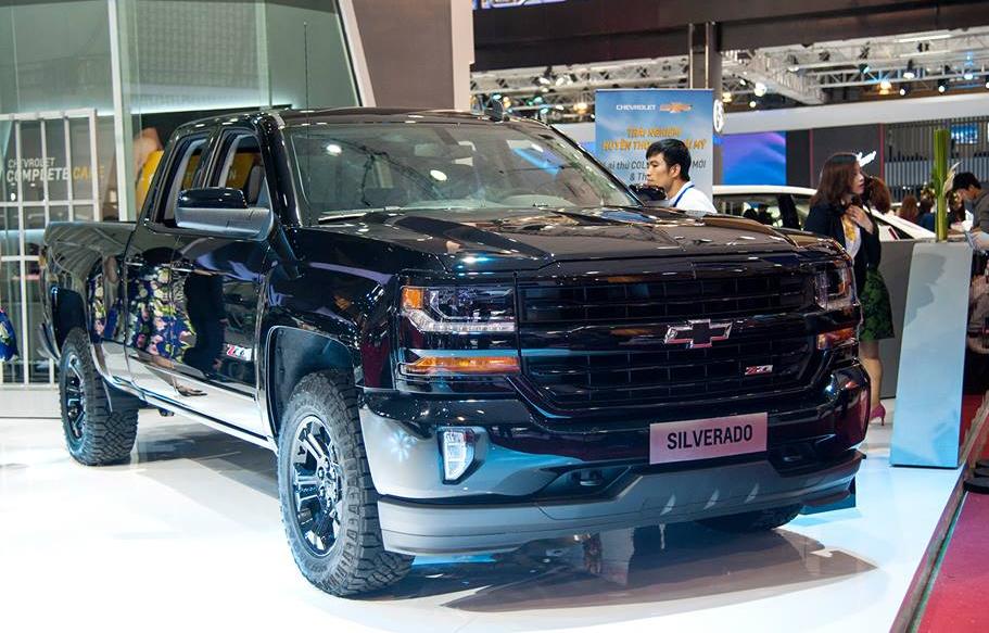 Chevrolet Silverado lần đầu đến Việt Nam