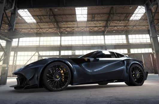 Ferrari F12 độ carbon giới hạn 10 chiếc trên thế giới