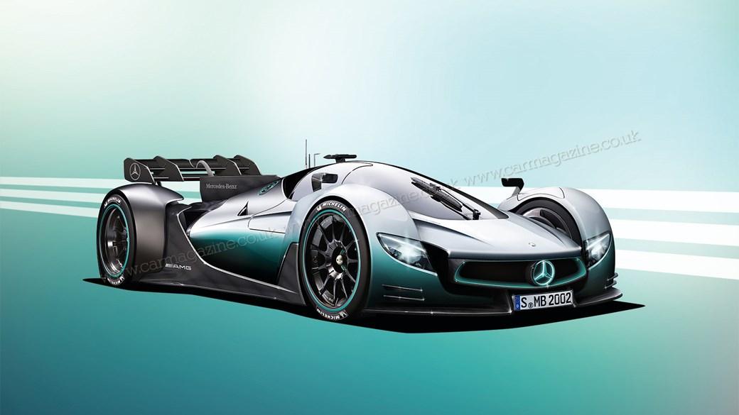Hãng xe Mercedes sắp ra mắt xe đua F1 chạy trên phố