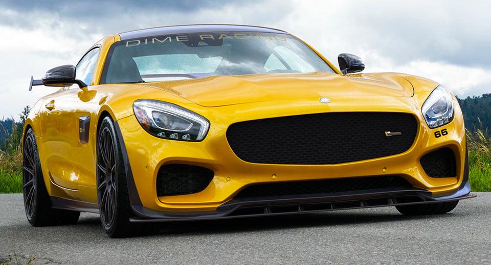 Mercedes AMG GT S với sức mạnh 'kinh hoàng'