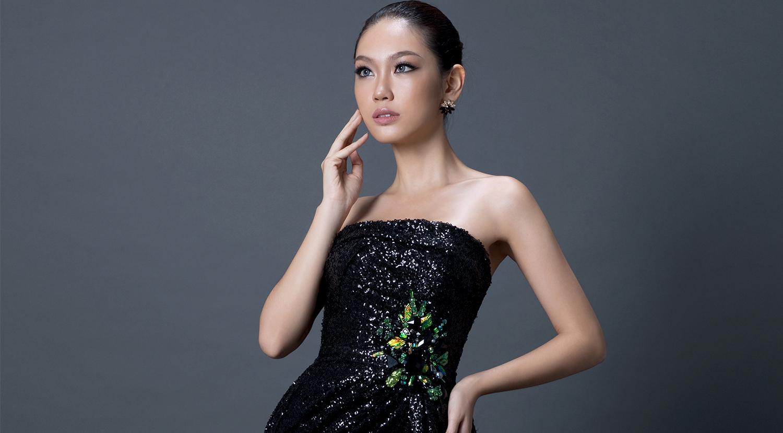 Những bộ đầm dạ hội Phương Linh mang đến Hoa hậu Quốc tế 2016
