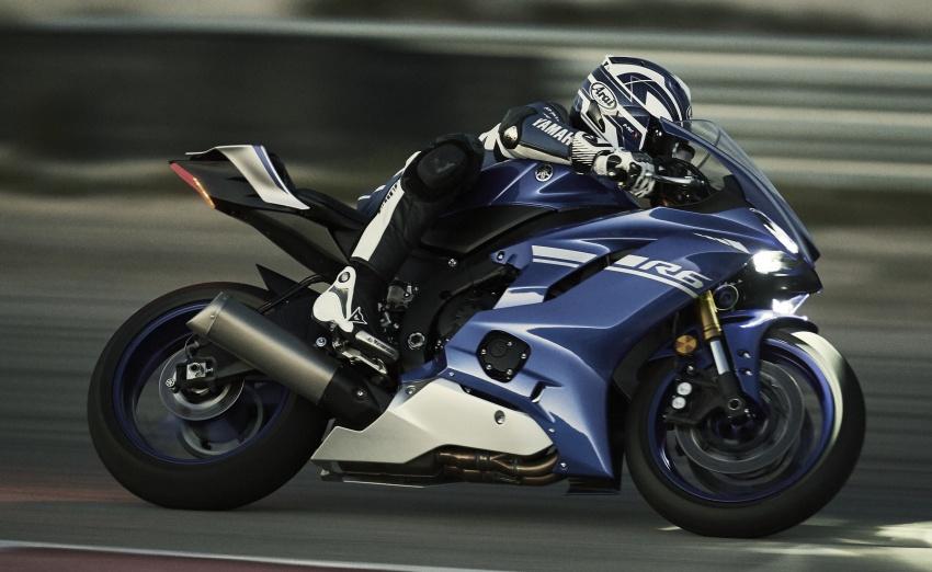 Yamaha ra mắt siêu môtô R6 2017