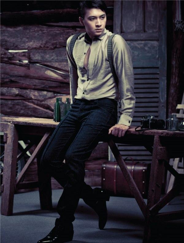Áo sơ mi nam đẹp với gam màu trung tính, nhẹ nhàng của Retro & Vintage