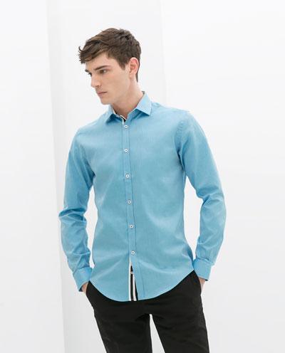 Áo sơ mi nam màu xanh đẹp cho chàng trai công sở mát mẻ