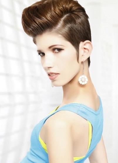 Những kiểu tóc ngắn nữ ấn tượng với phong cách châu Âu