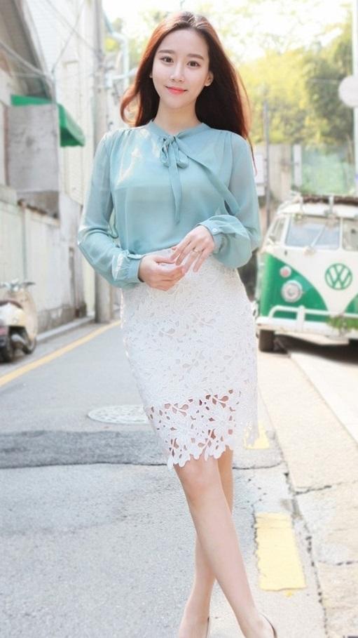 Áo sơ mi nữ vải voan xu hướng thời trang hè 2017