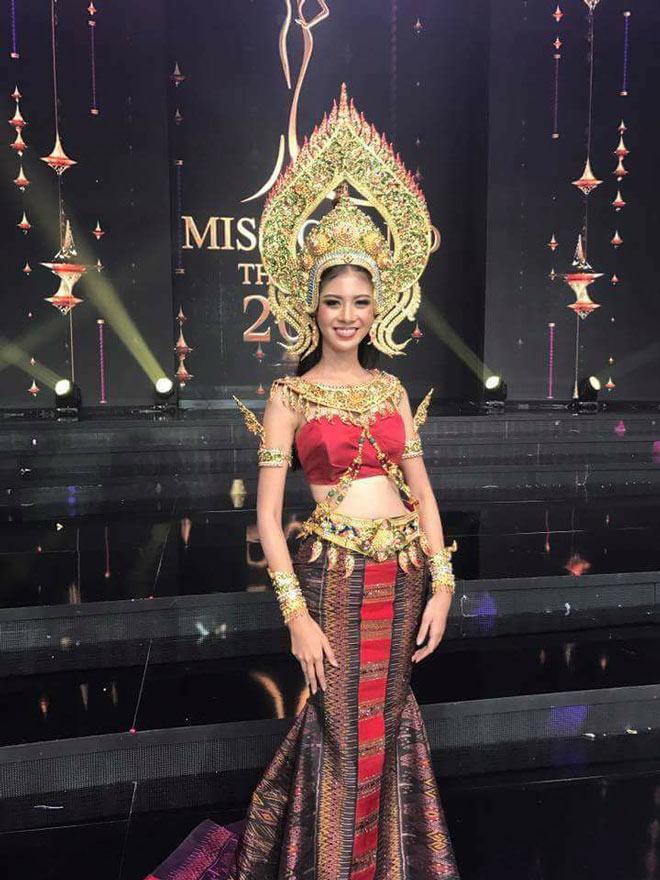 Thí sinh Miss Grand Thái Lan khiến khán giả không thể chê trách