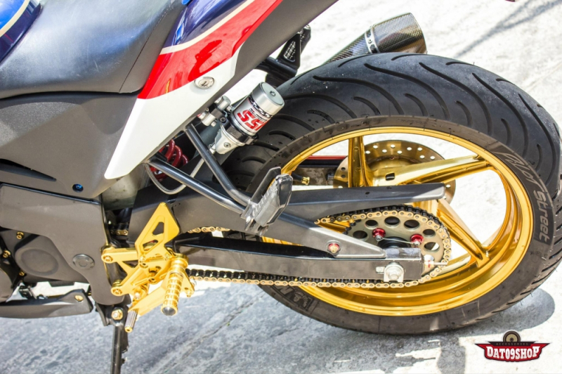 Honda CBR150 độ đầy phong cách cá tính