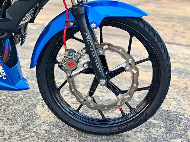 Mãn nhãn với Raider độ full option của biker