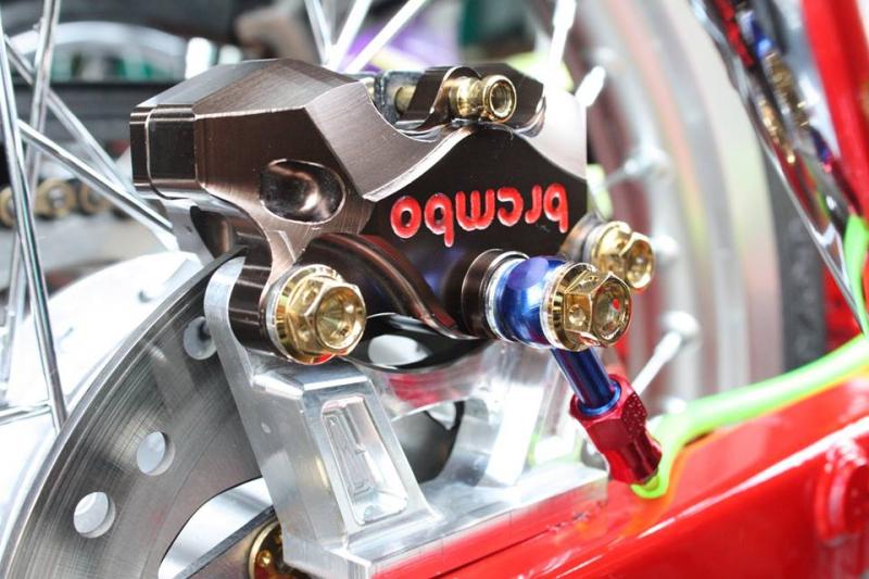 Honda CBR 150 đời cũ phiên bản độ kiểng chơi tết cực đẹp