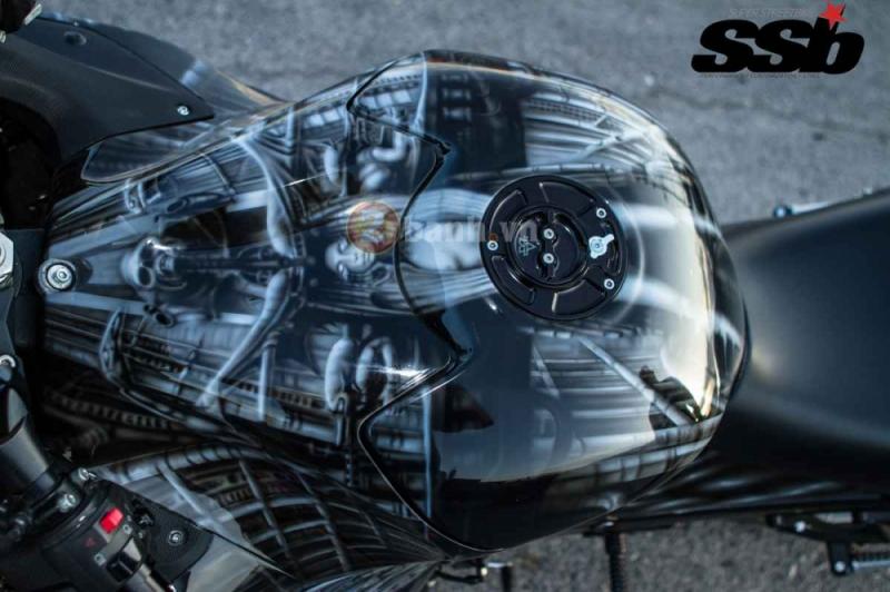 Loạt ảnh Kawasaki ZX-14 đời 2006 độ 500hp mạnh mẽ