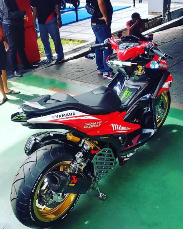 NVX 155 bản nâng cấp ấn tượng với hệ thống phuộc Ducati