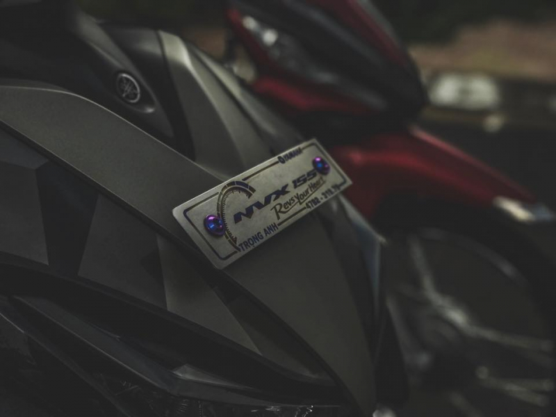 NVX 155 độ - màn lột xác táo bạo ở phong cách Camo