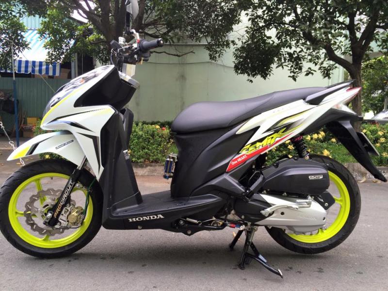 Honda Click phiên bản mạnh mẽ
