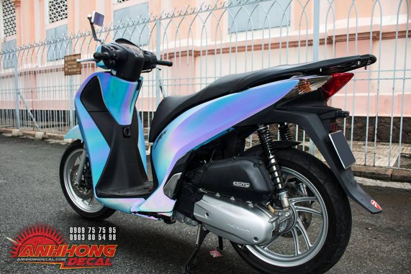 Siêu Honda SH 150 độc nhất Việt Nam