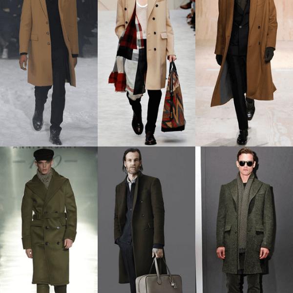 Cách chọn áo khoác măng tô nam