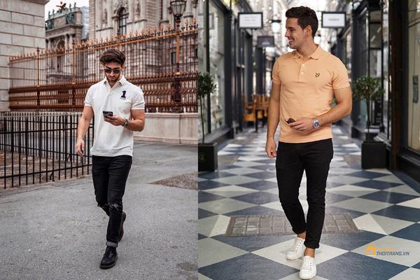 Kết hợp áo Polo với quần gì cho nam