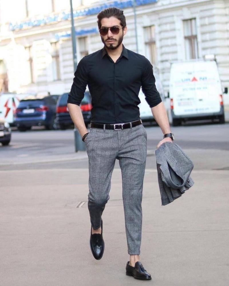 Bảnh bao soái ca với gợi ý phối áo sơ mi cùng quần trouser