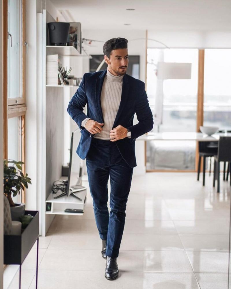 5 kiểu diện suit giúp các quý ông thêm bảnh bao