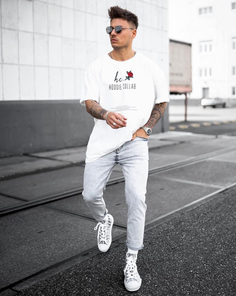 """Chuẩn """"bad boy nổi loạn"""" với 6 cách phối đồ cho chàng yêu style streetwear cá tính"""
