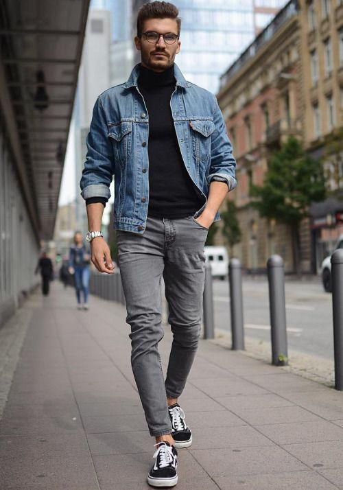 6 cảm hứng phối đồ với denim jacket giúp chàng thêm phong cách